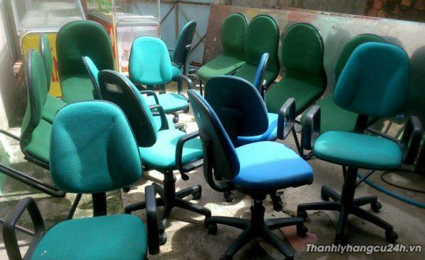 Thanh lý ghế nệm xoay văn phòng - Thanh lý ghế nệm xoay văn phòng