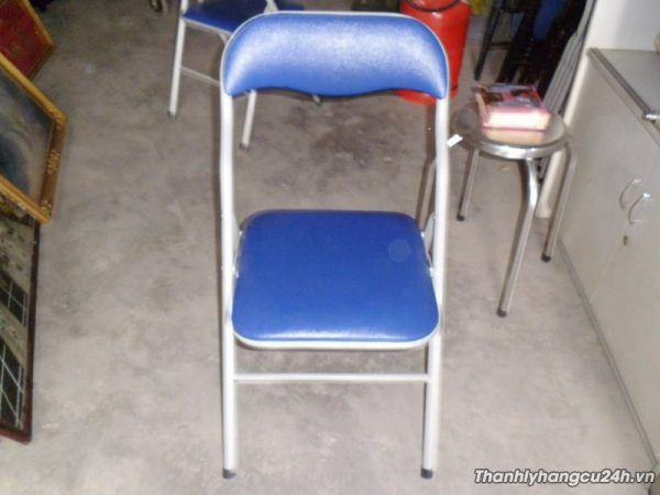 Thanh lý ghế gấp màu xanh - Thanh lý ghế gấp màu xanh