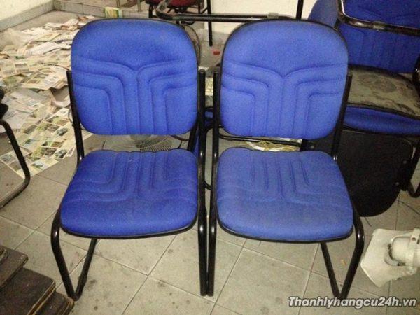 Thanh lý ghế chân quỳ xanh