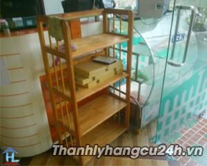 Thanh lý Kệ gỗ dép 4 tầng - Thanh lý Kệ gỗ dép 4 tầng