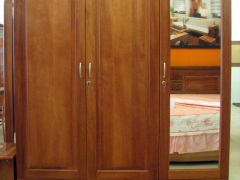 Thanh lý tủ quần áo gỗ xoan đào - Thanh lý tủ quần áo gỗ xoan đào