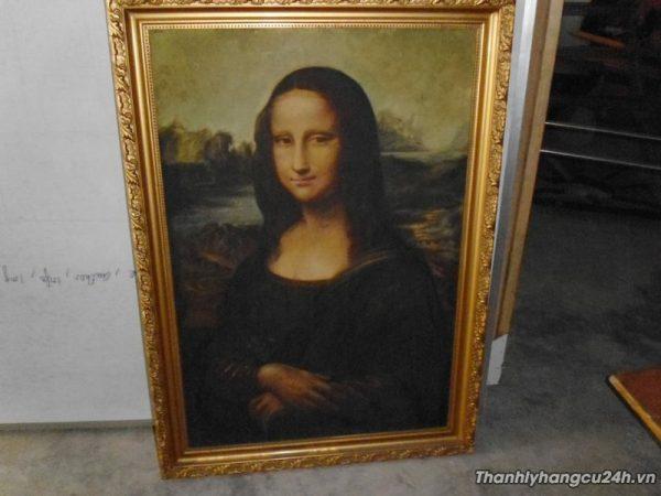 Thanh lý tranh bà Mona Lisa - Thanh lý tranh bà Mona Lisa