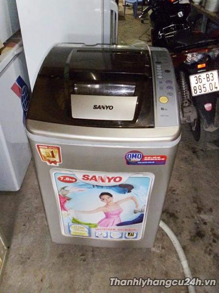 Thanh lý máy giặt Sanyo mới 90%