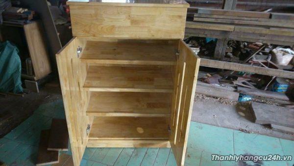 Thanh lý tủ giầy dép gỗ - Thanh lý tủ giầy dép gỗ