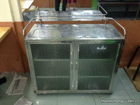 Thanh lý tủ chén inox 304