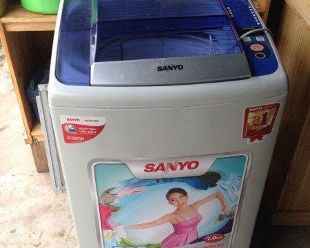 Thanh lý máy giặt sanyo