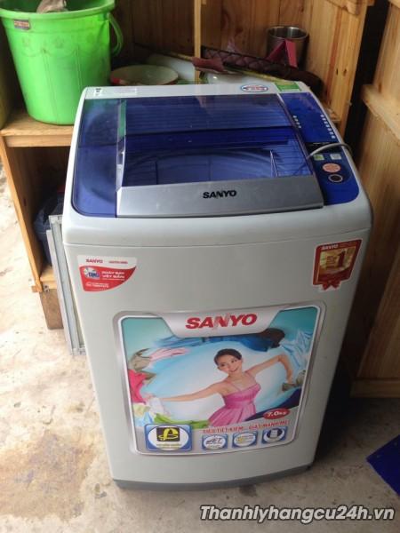 Thanh lý máy giặt sanyo 7kg mới 95%