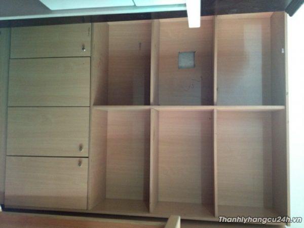 Mua bán tủ hồ sơ gỗ đứng cũ