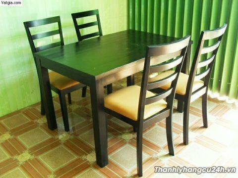 Mua bán bàn ghế gỗ nhà hàng cũ