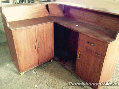 quầy bar gỗ thanh lý