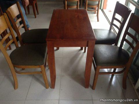 Mua bán bàn ghế nệm nhà hàng
