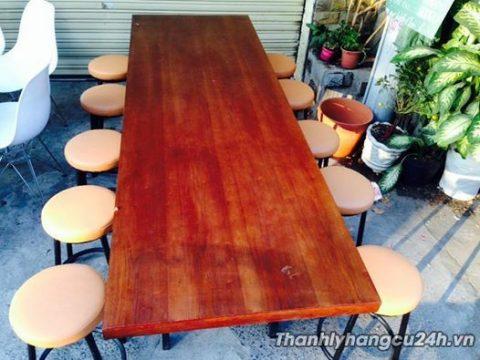 thanh lý bàn ăn mười ghế