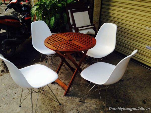 Mua bán bộ bàn ghế kiểu mầu trắng - Mua bán bộ bàn ghế kiểu mầu trắng