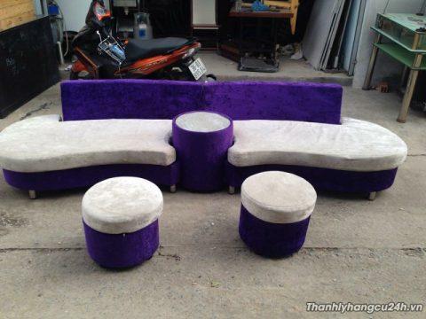 bàn ghế sofa gia đình thanh lý
