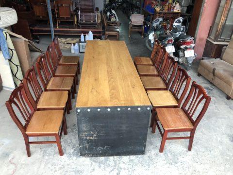Bộ bàn ăn 10 ghế