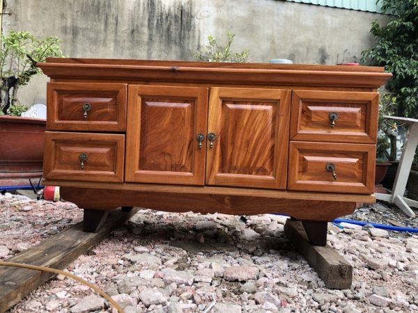 Tủ tivi gỗ sồi