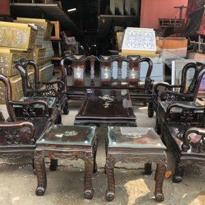 Mua bàn ghế gỗ cũ xưa
