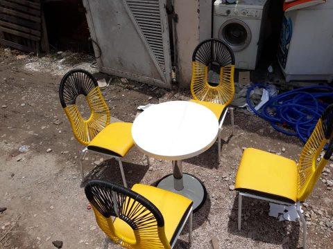 thanh lý bàn ghế cafe mới 95%