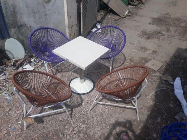 Bàn ghế cafe ngoài trời giá rẻ