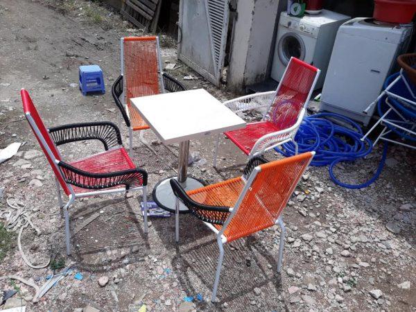 Bàn ghế cafe hàng cũ thanh lý