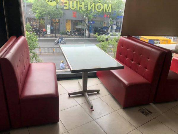 thanh lý bàn ghế sofa quán ăn