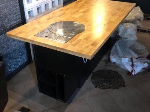 thanh lý bàn nướng không khói