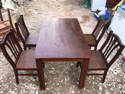 thanh lý bàn ăn 4 ghế
