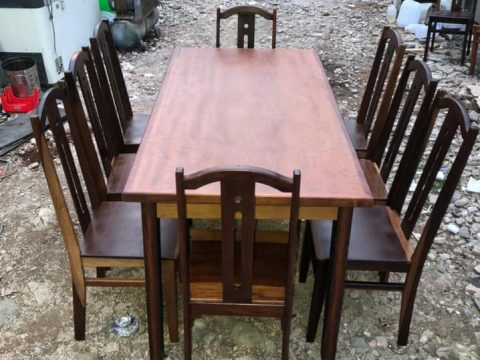 thanh lý bàn ăn 8 ghế