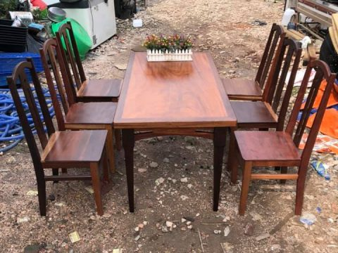 thanh lý bàn ăn 6 ghế