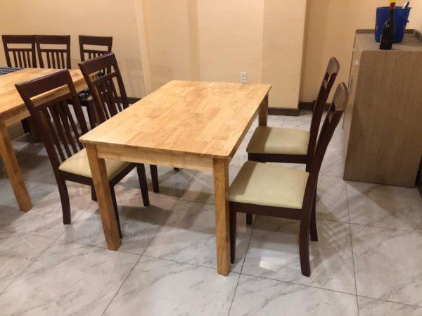 thanh lý bàn ăn nhà hàng 4 ghế