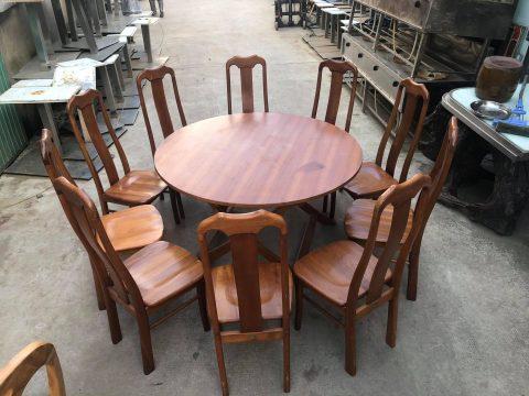 Thanh lý bàn ăn 10 ghế
