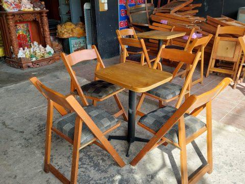 Bàn ghế cafe thanh lý tại TP HCM