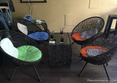 Bàn ghế quán cafe thanh lý