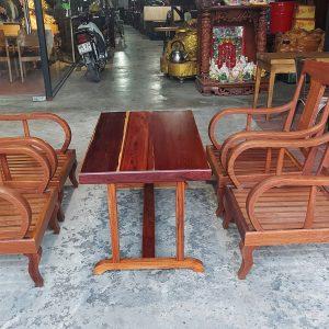 thanh lý bàn ghế gỗ cẩm lai