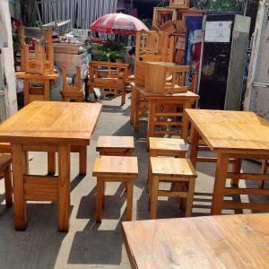 bàn ghế quán ăn thanh lý tại TPHCM